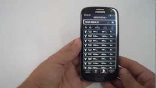 نظره سريعه على الهاتف المحمول Samsung Galaxy S3 LTE