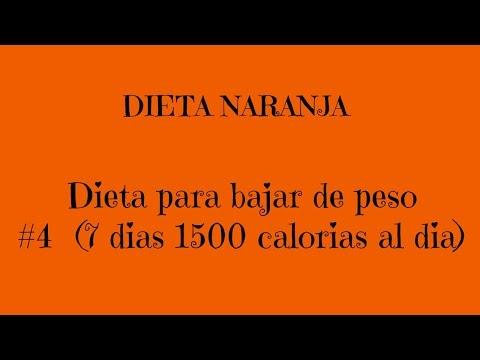 Dieta de 1500 kcal al dia