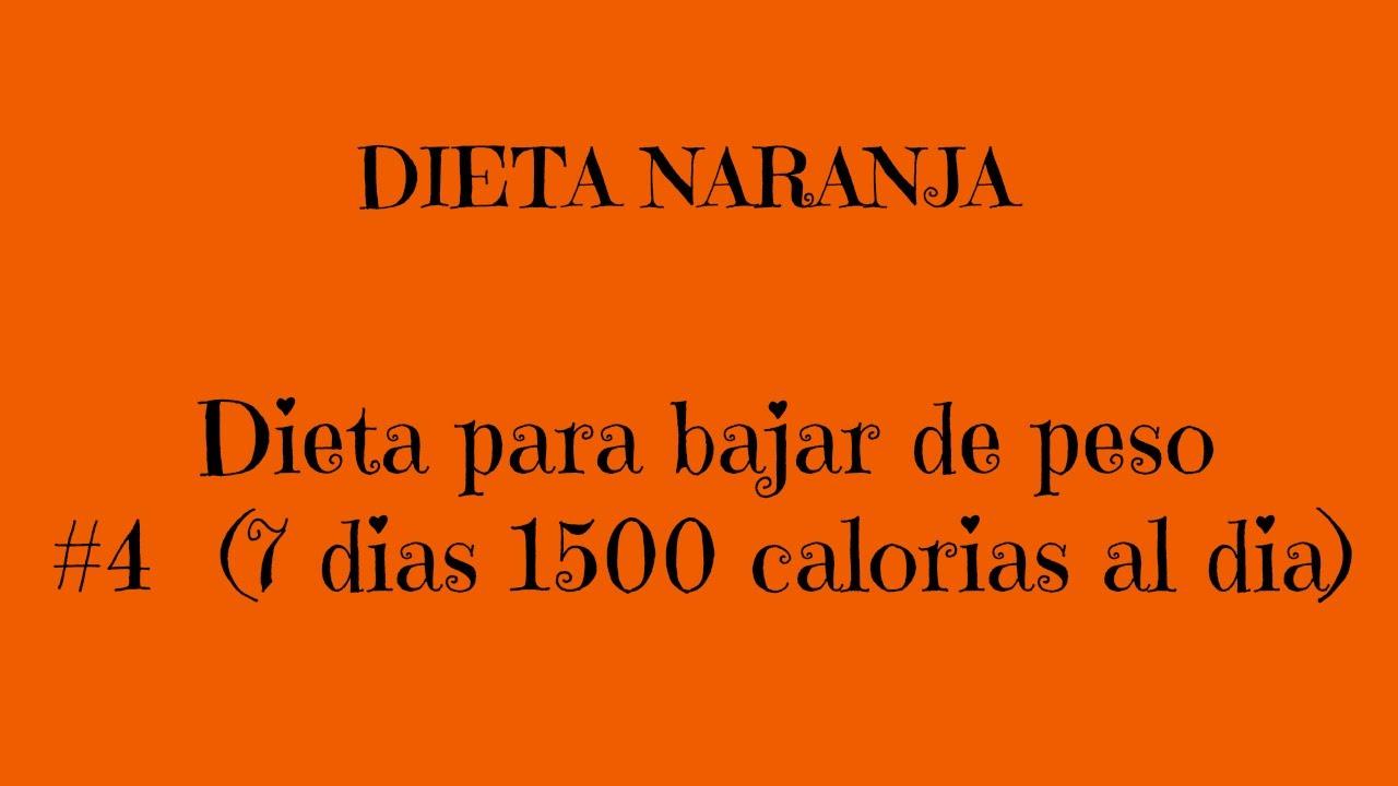 Dietas para bajar de peso en 4 dias