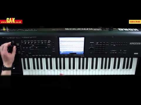 Korg Kronos Music Workstation Demo - PART 2