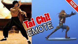FORTNITE ITEM SHOP: NEW TAI CHI DANCE EMOTE! (NOVEMBER 18TH 2018) FORTNITE BATTLE ROYALE