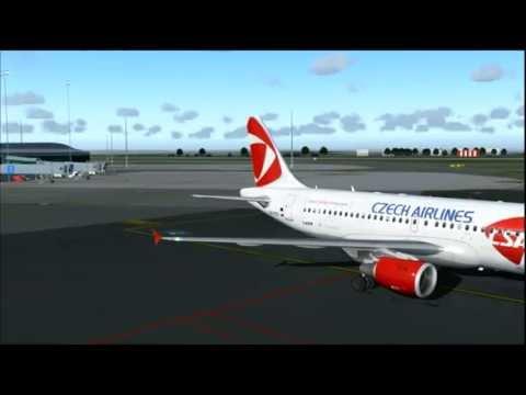 OK892 A319 CZECH AIRLINES PRAGUE - MOSCOW UUEE