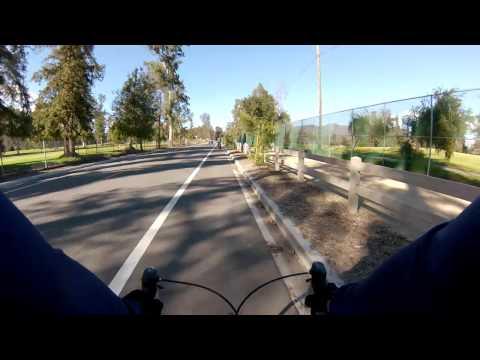 Bike ride along LA River and Griffith Park
