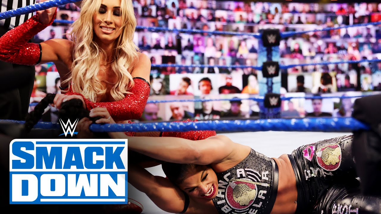 Bianca Belair vs. Carmella: SmackDown, April 2, 2021