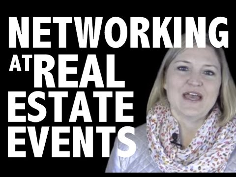 How to Get More Results When Networking at Real Estate Events