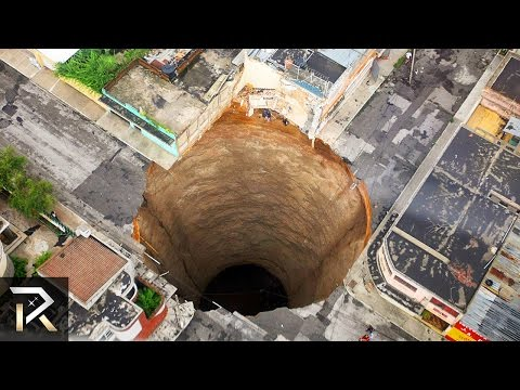 Thumbnail: 10 Largest Holes Swallowing The Earth
