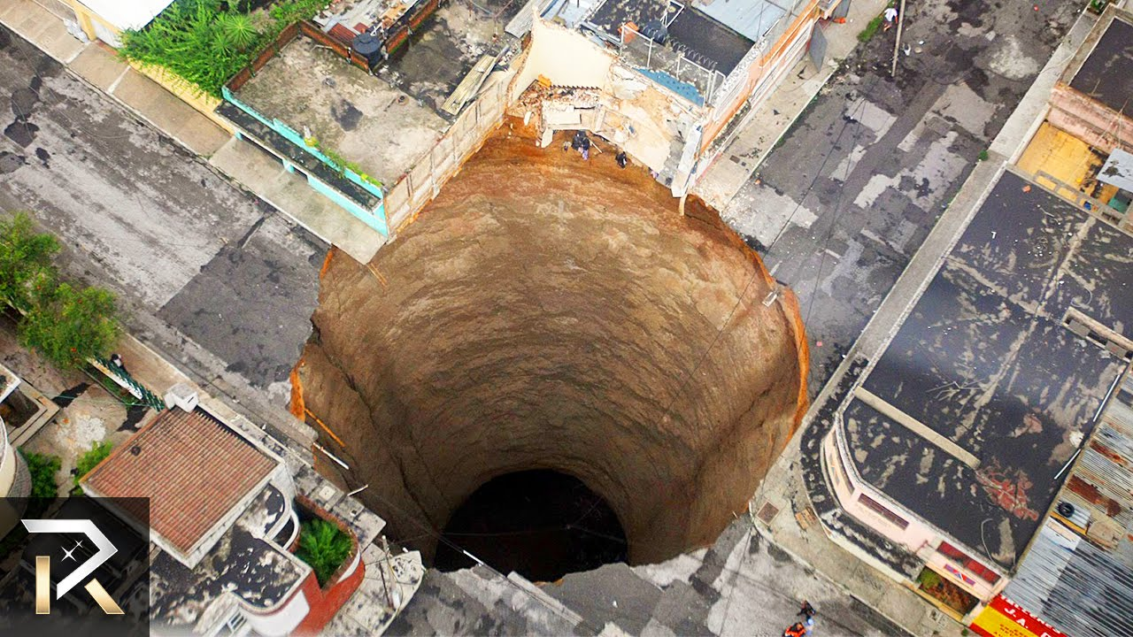 10 largest holes swallowing the earth youtube