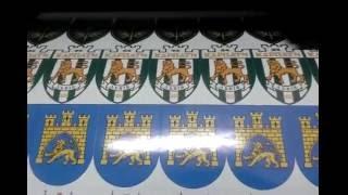 Широкоформатная печать, печать наклеек на пленке Oracal(Широкоформатная печать, печать на оракале., 2016-05-24T11:32:13.000Z)