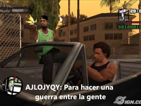 trucos de gta san andreas pc