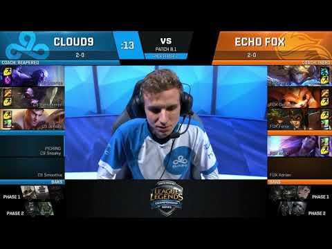 [S-VOD Review] Cloud 9 vs EchoFox W2D1 - Guest: Fnatic`Bwipo