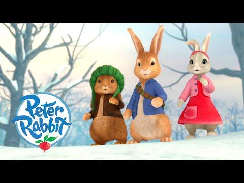 #Summer ☀️ Peter Rabbit - Snow Down Under ❄️   Cartoons for Kids