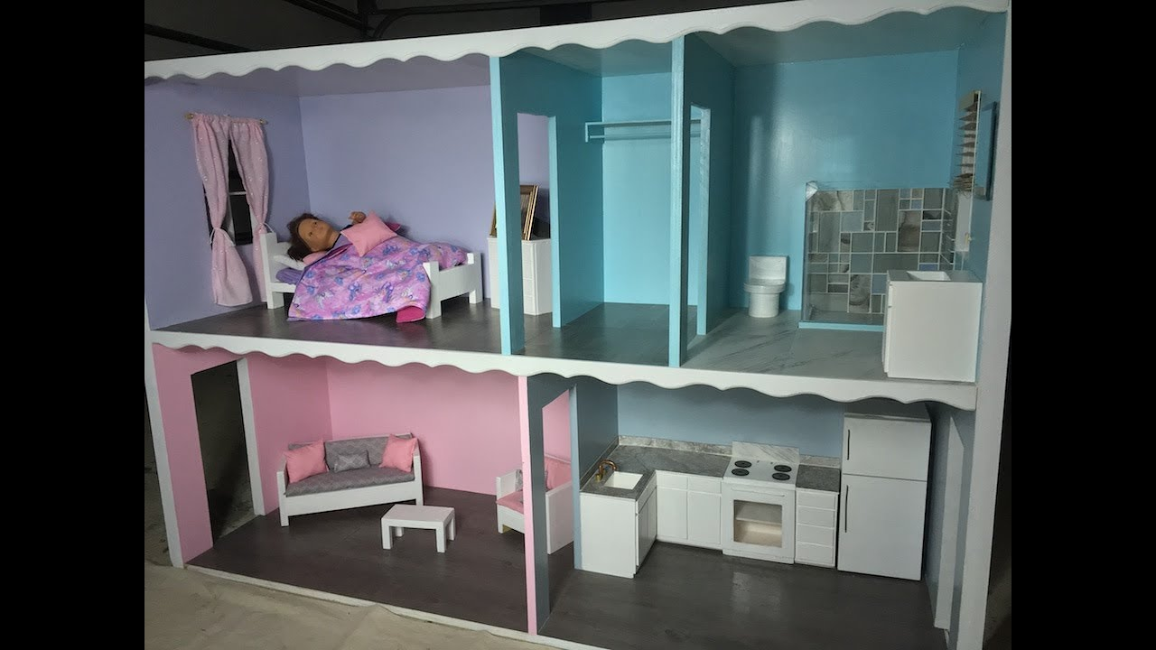 Amazing Doll House You Can Diy American Girl