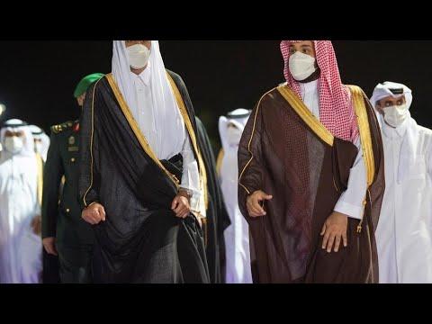 ولي العهد السعودي يستقبل أمير قطر بجدة في ثاني زيارة له إلى المملكة منذ المصالحة الخليجية  - نشر قبل 2 ساعة