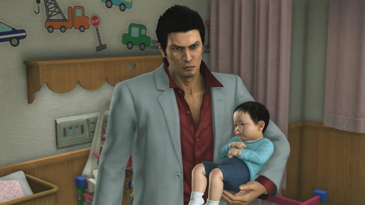Yakuza 6: Nursery Battle - YouTube