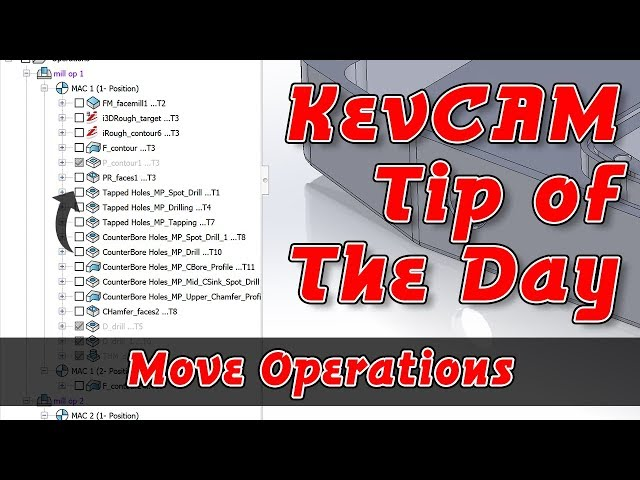 Tip of the Day - Move Operation in Tree