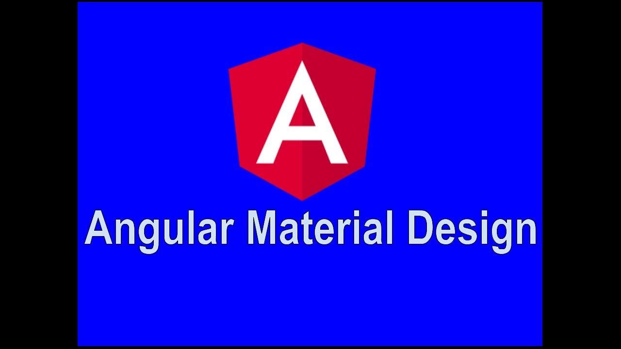 Angular Material Design Select