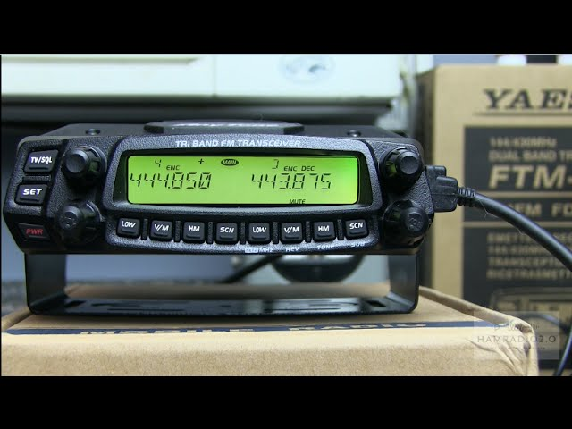 Ham Radio 2.0: Episode 57 - Unboxing and Testing the Anytone AT-5888UVIII Triband Radio