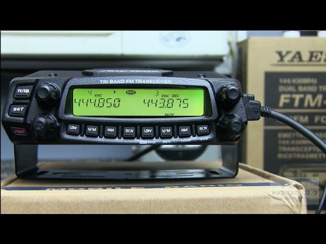 Ham Radio 2.0: Episode 57 - Unboxing and Testing the Anytone AT-5888UVIII Triband Radio