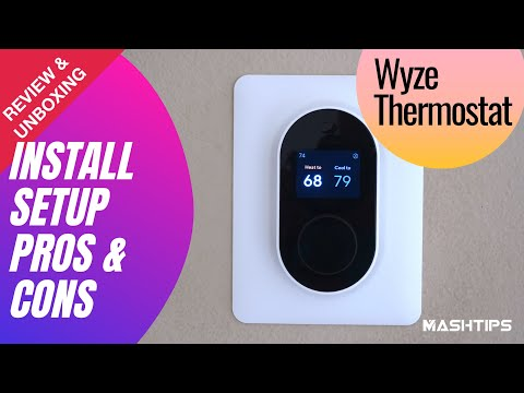 Wyze Thermostat: Review, First Impression, Installation, Pros & Cons