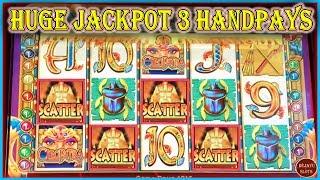 🤯 HUGE JACKPOT (3) HANDPAYS! 🤯 4 SCATTER BONUS ON CLEOPATRA