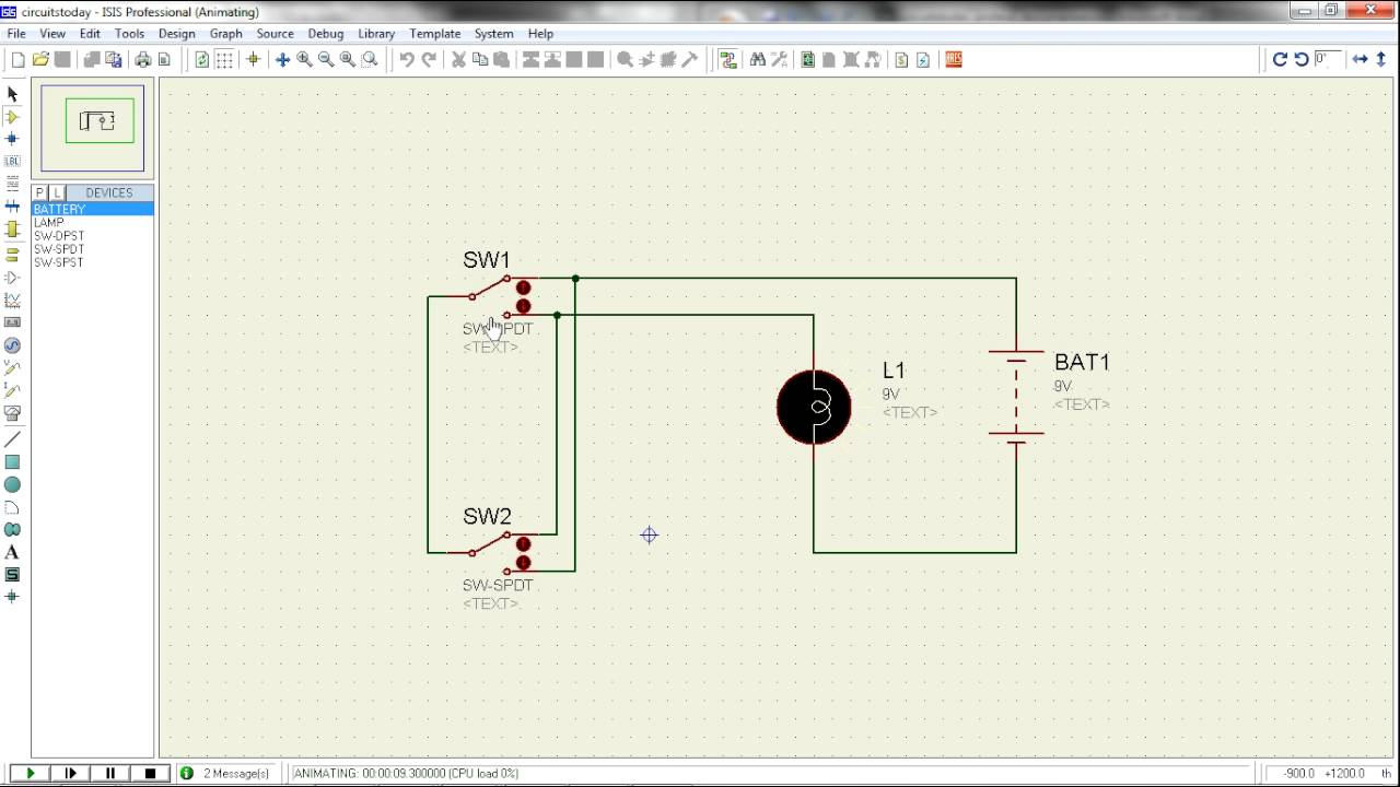 proteus tutorial switches and relays types screenshots 555 timer circuit t flip flop circuit diagram, truth