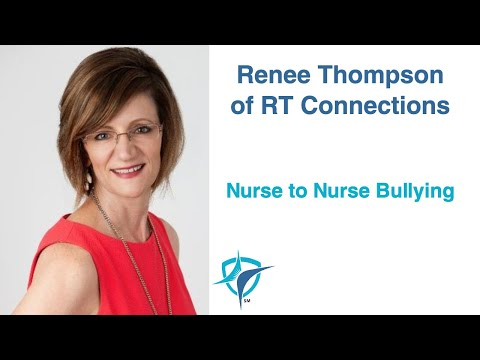 Lorie Brown Interviews  Renee Thompson of RTConnections about Nurse Bullying