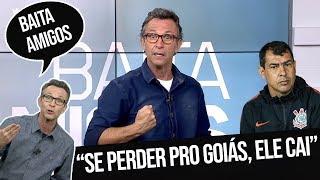 """Neto: """"Estão fazendo campanha contra o Carille dentro do Corinthians"""" - #BaitaAmigos"""