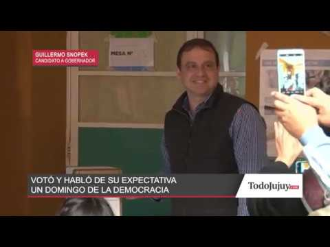 Guillermo Snopek - Candidato a Gobernador
