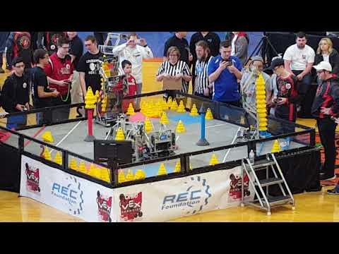 VEX In The Zone Ohio State Championship Final Match 2 598B 4805F vs 1344A 2011C