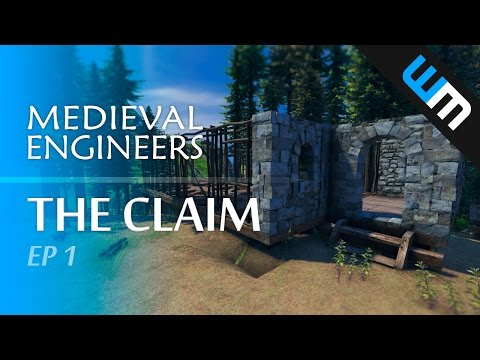 Medieval Engineers, Multiplayer Survival Gameplay - The Claim, Ep 1