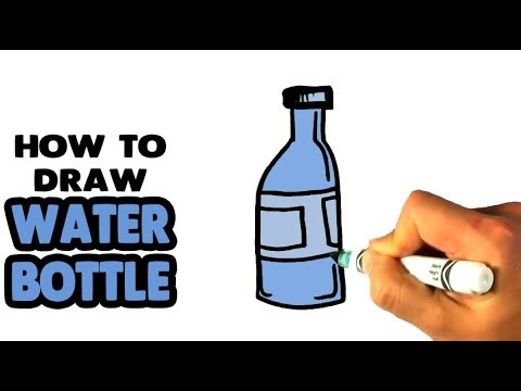 Download How To Draw A Water Bottle Simple Step By Step For