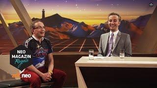 Verstecken mit Wigald Boning | #asbekte NEO MAGAZIN ROYALE mit Jan Böhmermann - ZDFneo