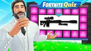 Impossible Fortnite QUIZ!? (Fortnite Creative Mode)