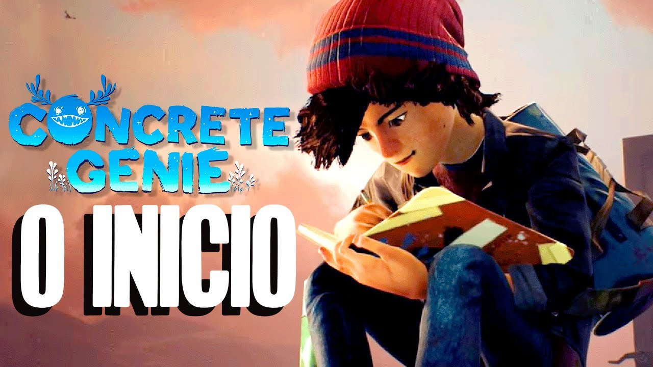 Concrete Genie - O Início do NOVO EXCLUSIVO DO PS4 (Gameplay PT-BR Playstation 4)