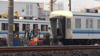 【解体状況】東武東上線 8000系 8181F 廃車解体状況