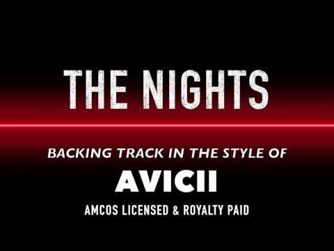 The Nights (in the style of) Avicii MIDI MP3 Backing Track