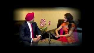 Punjabi Actress DEEP BRAR on Global Punjab TV with Gill Pardeep - Program Jaan Pehchaan