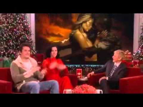 Katy Perry and John Mayer on Ellen show