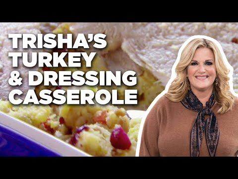 Trisha's Turkey and Dressing Casserole | Food Network