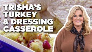 Trisha's Turkey and Dressing Casserole   Food Network