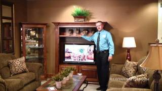 Weavers Furniture Amish Made Entertainment Centers.mov