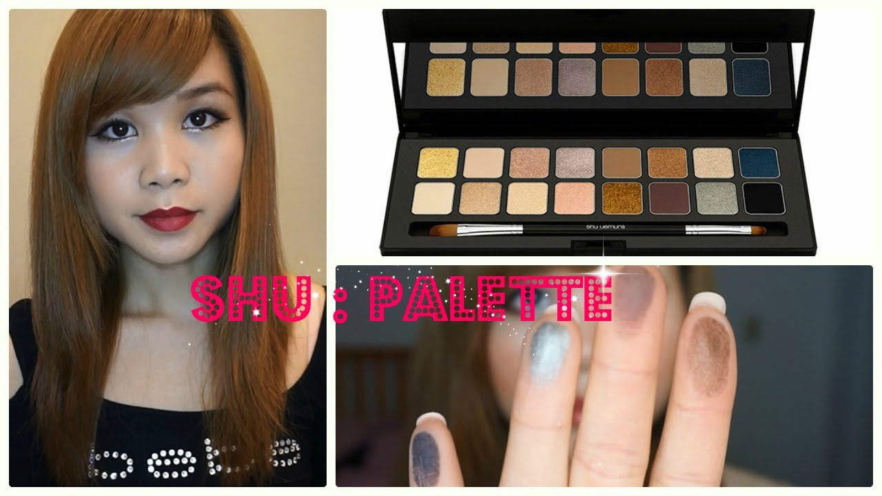 Shu Uemura Shu:Palette 16 Shades of Nude: Review and