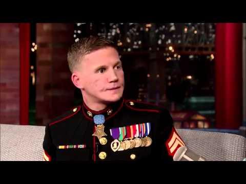 David Letterman - Medal of Honor Recipient, Cpl. Kyle Carpenter De