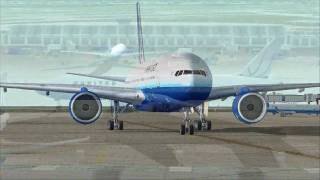 FS2004 : United Airlines Departure From Chicago O'Hare