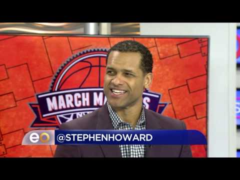 Stephen Howard  talking March Madness, NBA and Lavar Ball with Eye Opener CW33
