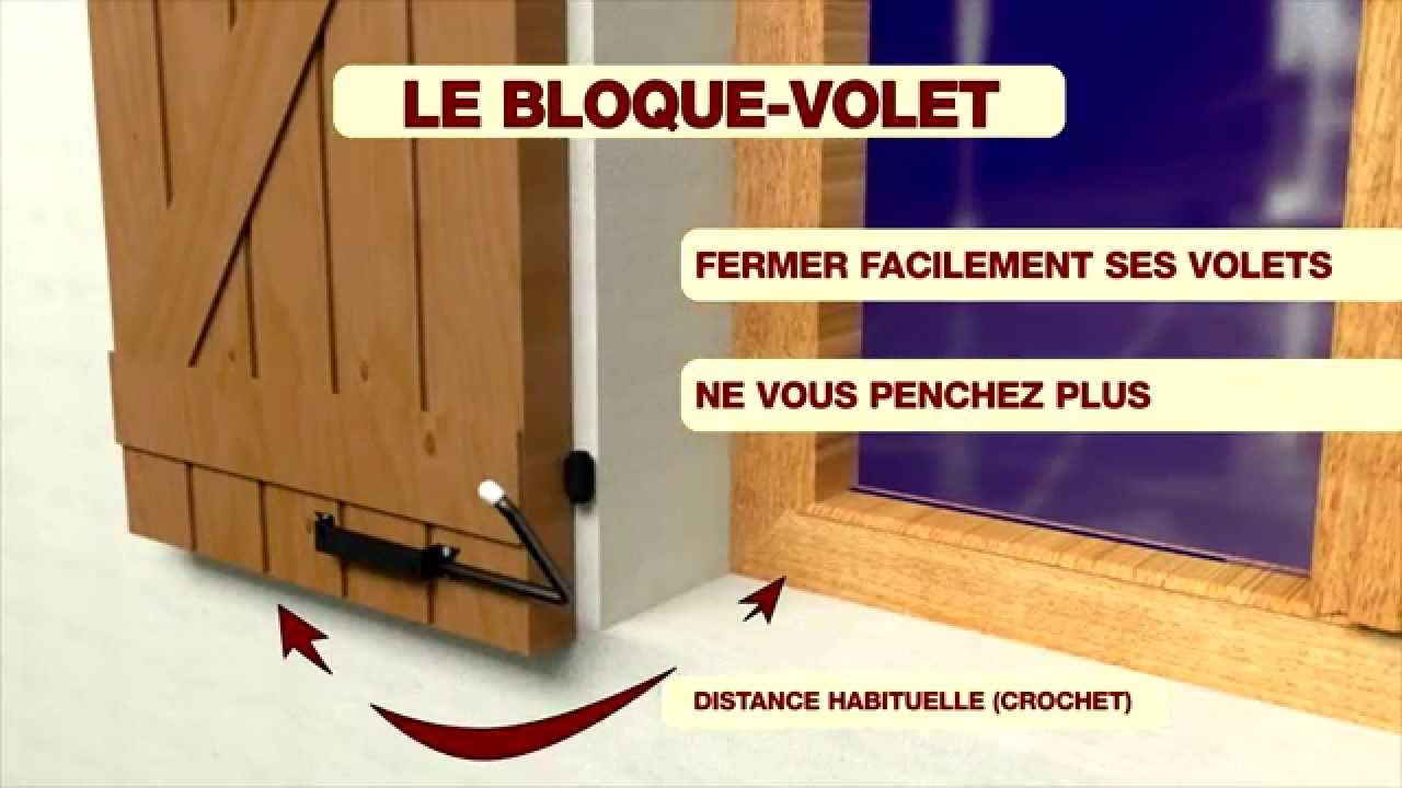 bloque volet youtube. Black Bedroom Furniture Sets. Home Design Ideas