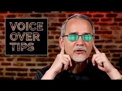 25 VOICE OVER TIPS Explained with Examples