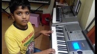 Download Hindi Video Songs - apple beauty from janatha garage on keyboard by t.saketh