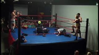 Six-Person Pre-Show Tag Match (Aug. 18, 2017)
