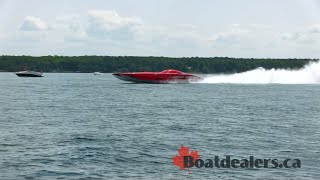 My Way 50-foot Mystic Power Boat Catamaran 224mph